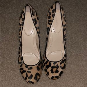 Calvin Klein leopard heels